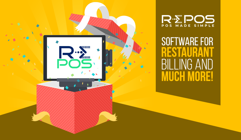 RePOS – Software for Restaurant Billing & Much More!