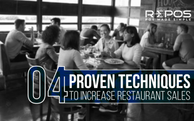 4 Proven Techniques to Increase Restaurant Sales