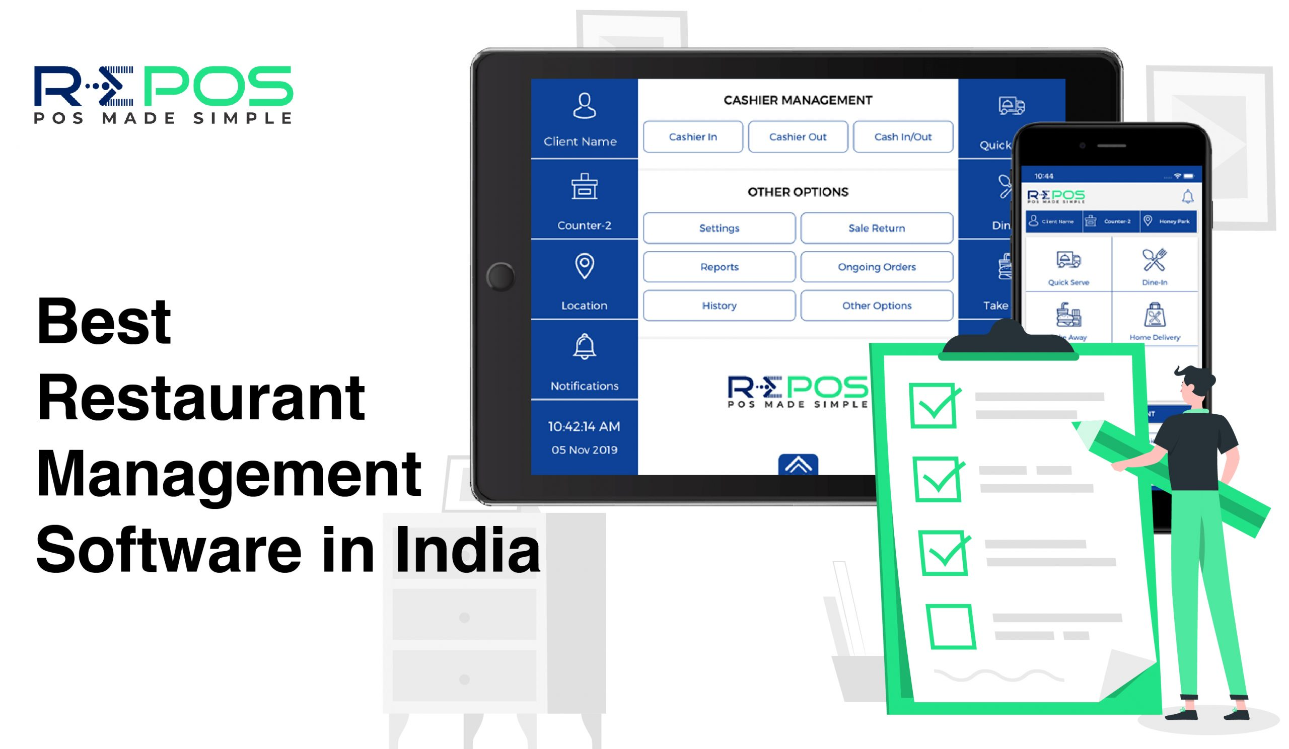 RePOS Best Restaurant Management Software in India